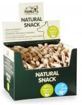 Natural Snack - Четка за зъби - Мляко и ванилия - 7 см. - (за 1 бр.)