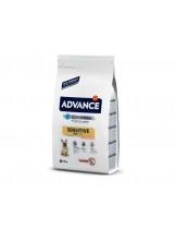 Advance Dog Mini Sensitive Solomon and Rice - за чувствителни и капризни кучета,над 12 месеца, малки породи - 7.5 кг.