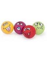 Dr. Clauder - Играчка за куче - ExpressionBall - Латексово топче с пищялка - 6 см.