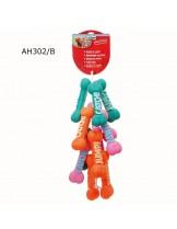 Camon - Играчка за куче - Кокал Винил Пупи - 23 см. - розов , оранжев или зелен
