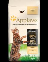 Applaws Chicken Adult Cat - пълноценна храна за израстнали котки над 12 месечна възраст с пилешко месо - 2 кг.