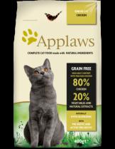Applaws Senior Chicken - пълноценна храна за котки над 7 годишна възраст с пилешко месо - 7.5 кг.