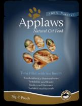 Applaws Tuna with Seabream in Broth - високо качествен пауч за котки с риба тон и ципура - 70 гр.