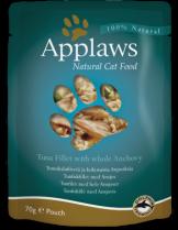 Applaws Tuna with Anchovy in Broth - високо качествен пауч за котки с филе от риба тон и аншуа - 70 гр.