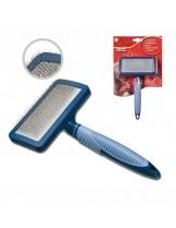 Camon - Четка SLICKER за разресване на домашни любимци - 10х5х18 см.