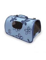 BioZoo - Текстилна чанта BOLSO за домашни любимци - 37х22х20 см.- черен, светло син, кафяво-лилав, червен, тъмно зелен.