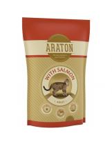 Araton Adult CAT with Salmon - пълноценна балансирана суха храна за котки над 1 година със сьомга и пилешко месо - 15 кг.