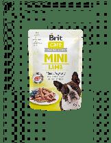 Brit Care Mini Lamb fillets in gravy - неустоим, високо качествен пауч за кучета от малките породи с агнешко месо - 85 гр.