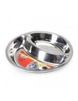 Camon DURAPET Dual bowl  - метална купичка за домашнилюбимци - 16 см/240 мл.