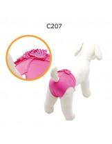 "CAMON - Бански за куче - размер ""5"" - розови"