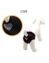 """CAMON - Бански за куче - размер """"1"""" - черни"""