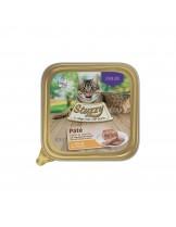 Agras Delic Mister Stuzzy Cat Chicken Neutered Cat - неустоим пастет за кастрирани котки с пилешко - 100 гр.