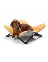 Camon Opla Folding dog bed - шезлонг за домашни любимци с размери - 60x60x15 см.