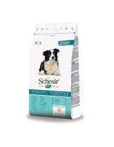 Schesir Puppy Maintenance with Chicken Monoprotein - пълноценна храна за кученца от средни и едри породи от 1 до 12 месеца с пилешко месо - 3 кг.
