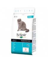 Schesir Maintenance with Fish - Суха храна за котки над 1 година с бяла риба - 10 кг.