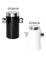 CAMON - керамична купа за съхранение на лакомства - Черна - 22 см