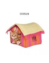 Camon Cotton House - мека розова къщичка за домашни любимци с размери - 45x35x35h см.