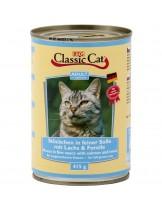 Classic Cat Sauce Salmon & Trout - консерва за котка със сьомга и пъстърва - 415 гр.