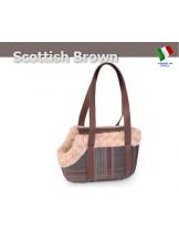 Camon - Текстилна чанта SCOTTISH ROSE за домашни любимци - 40х20х25 см.