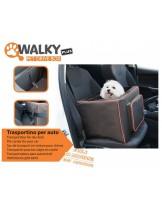 Camon - Pet Drive Box Walky - Отворена, транспортна кутия за мини домашни любимци за кола - 43x36x33 см.