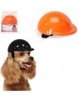 CAMON - Каска за куче - L - 15 см. - Оранжева