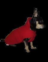 Dogyfashion - дрешка за куче -  Модел 2, с яка, Размер 0, мини породи (мини пинчер, чихуа хуа и други)