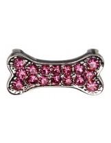 Camon - Декоративна форма- кокалс брилянти за поводи и нашийници - 2 см. - розова, синя