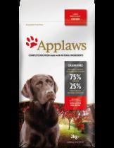 Applaws Adult Large Breeds Chicken - пълноценна храна за подрастващи кучета над 18 месеца от големите и гигантски породи с пилешко - 7.5 кг.