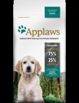 Applaws Puppy Small Medium Breeds Chicken - пълноценна храна за подрастващи кучета от 1 до 12 месеца от малките и средни породи с пилешко месо - 7.5 кг.
