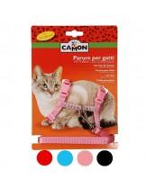 Camon - Комплект повод + нагръдник за коте - 10х1400 мм. - различни цветове