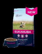 Eukanuba Dog Adult Toy Breed - за израснали кученца над 12 месеца от мини породите до 4 кг. с пилешко месо - 2 кг.