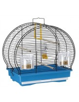 Ferplast - Luna 1 Black - клетка за декоративни птици 40x23,5x38,5 см.
