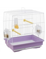 Ferplast - CAGE REKORD 1 WHITE - клетка за декоративни птици 35,5x24,7x37 см.