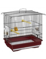 Ferplast - CAGE GUISY BLACK - клетка за декоративни птици 38,5x25,5x37 см.