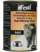FESTI adult cat chicken - консерва за котки nad 1 година с пилешко месо - 400 гр.