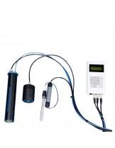 FIAP - Multi Gas Meter Pro - за измерване на общото налягане на газа, съдържанието на кислород, рН, температурата и налягането на въздуха и допълнително изчислява съдържанието на азот и въглероден диоксид във водата