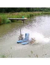 FIAP - profiair MASTER 750 - Плуващ - лопатъчен аератор за средни до големи езера и водоеми - до - 600 куб. м./ч.