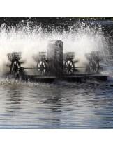 FIAP - profiair MASTER 1500 - Плуващ - лопатъчен аератор за големи езера и водоеми - до - 1000 куб. м./ч.