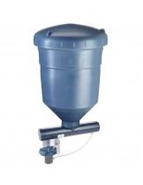 FIAP - Electronic Feeder with Spreader - Професионална електронна хранилка за риби с разпръсквател - капацитет 40 кг. - за гранула от 1 до 10 мм.