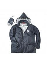 FIAP - profiline Rain Jacket L - Високо качество дъждобран, изработен от 100% водоустойчив и ветроустойчив полиестер - разме L