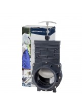 FIAP Gate Valve Active 110 - Фолиен фланец - конектор за декоративно езеро - 170 x 135 x 350 мм.