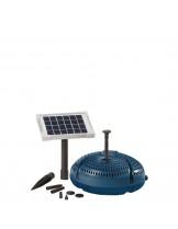 FIAP - Aqua Active Solar SET 300 - Мощна и безотказна езерна, фонтанна помпа със захранвана чрез соларни батерии - дебит до 300 л/ч.