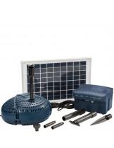 FIAP - Aqua Active Solar SET 800 - Мощна и безотказна езерна, фонтанна помпа със захранвана чрез соларни батерии - дебит до 800 л/ч.