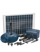 FIAP - Aqua Active Solar SET 1500 - Мощна и безотказна езерна, фонтанна помпа със захранвана чрез соларни батерии - дебит до 1500 л/ч.