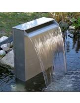 FIAP premium design WaterFall - Декоративен водопад от неръждаема стомана с премиум дизайн за директна инсталация или вграждане - 38 см.