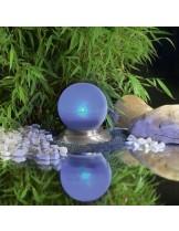 FIAP Solar Active Luna - висококачествено плуващо езерно осветление с крак от неръждаема стомана - захранвано с 2x1,5 V AAA батерии