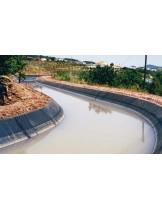 Високо качествена хидроизолация с Firestone EPDM Мембрана на напоителни канали с дългогодишна гаранция