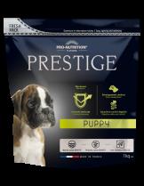 Flatazor Prestige Puppy - Пълноценна храна за подрастващи кучета до 1 година от всички породи, както и за женски кучета от всички породи в края на бременността или в периода на кърмене - 1 кг.