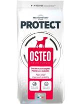 Flatazor Pro-Nutrition Protect Osteo - Пълноценна, протеинна (53%), диетична храна за кучета над 1 година с костни и ставни заболявания, както и за облекчение на болката и подобряване на подвижноста с пилешко, пуешко и патешко месо - 12 кг.
