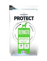 Flatazor Pro-Nutrition Protect Dermato - Пълноценна, високо протеинна (65%), диетична храна за кучета с дерматологични нарушения и кожни проблеми над 1 година с патешко месо - 2 кг.
